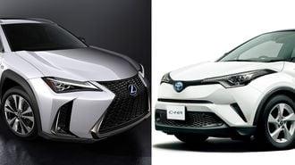 レクサスUXとトヨタC-HRは何が違うのか