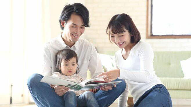 「絵本の読み聞かせ」父と母で効果はこんなに違う