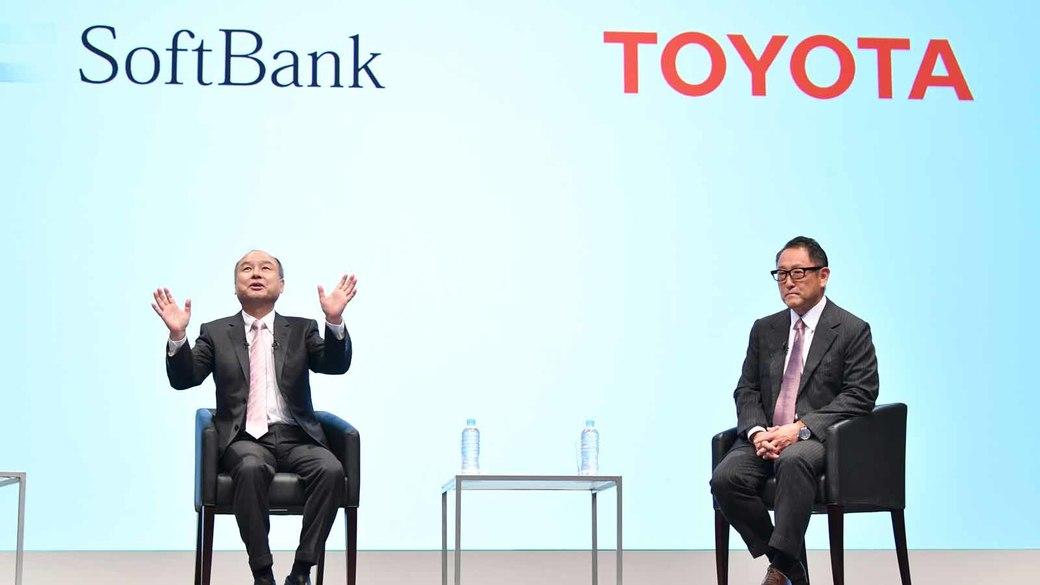 トヨタ、ソフトバンクと連携 KDDIは寝耳に水か?