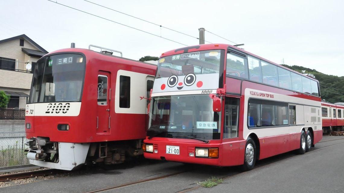 京急「赤い2階建て」は、三浦半島観光の目玉だ