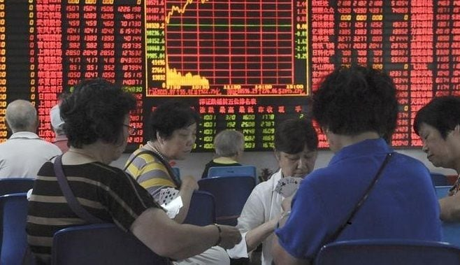 中国の株価は「経済動向」を反映していない