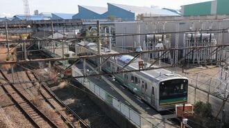 無人駅「浜川崎」昔は東京モノレール延伸構想も