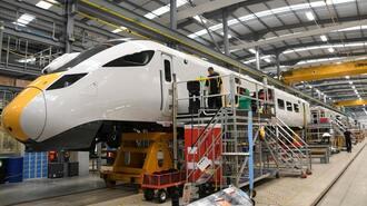 日立「英国新幹線」ひと安心、受注得て生産継続