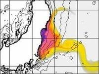 フランスの研究チームが太平洋沿岸部の放射線濃度の3Dシミュレーション結果を動画で公開