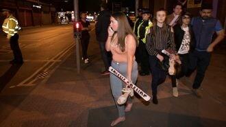 死者多数、英コンサート会場爆発の一部始終