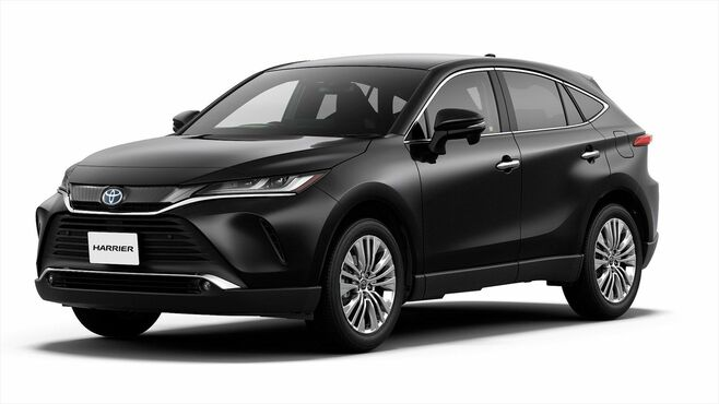 「新型ハリアー」のデザインに見るトヨタの思惑