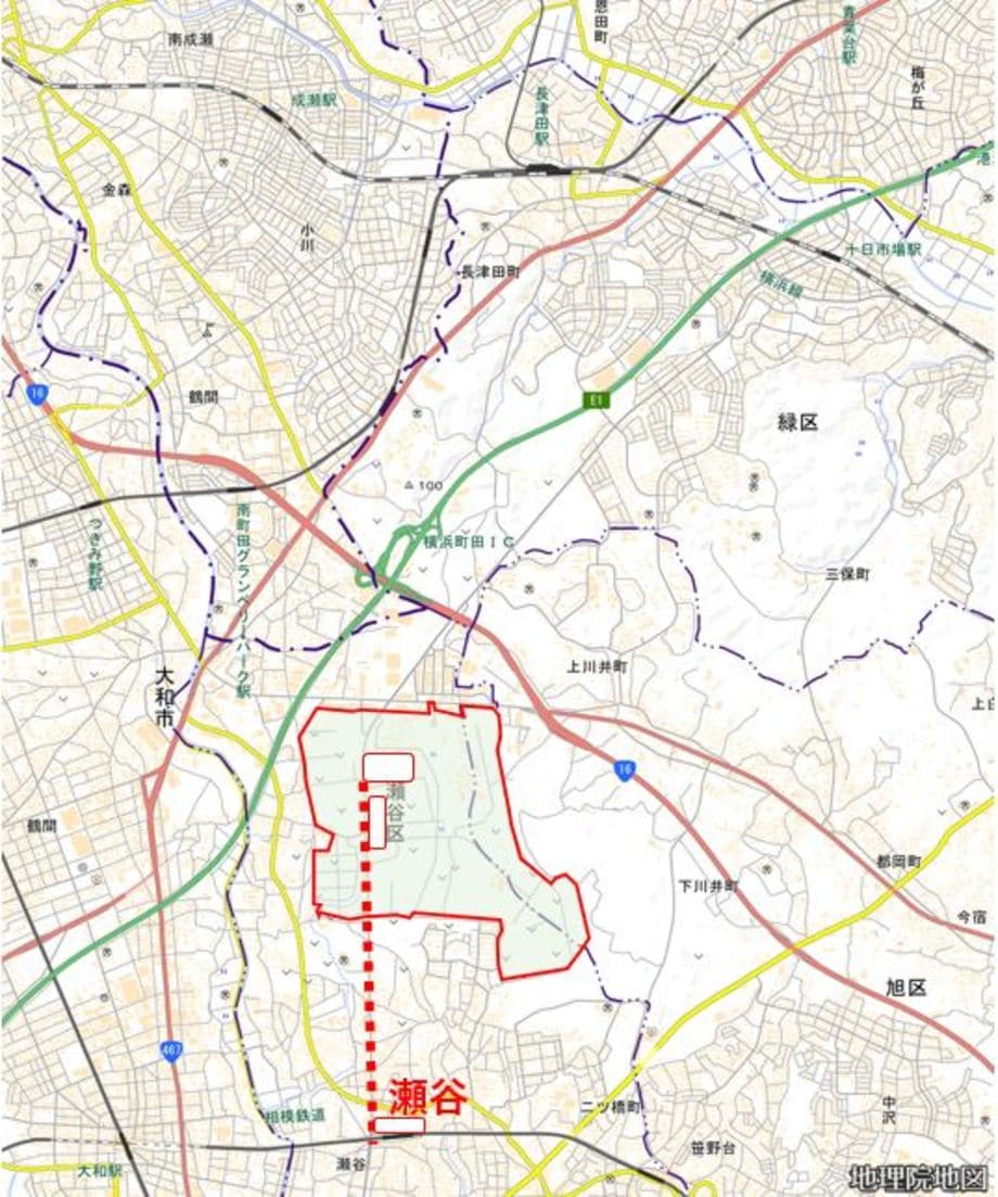 駅 開発 瀬谷 再