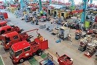 消防車専業で走るモリタ、頭打ち市場でも増収増益