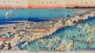 広重の「浮世絵」で150年前の東京を読み解く