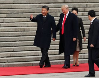 Trump to talk North Korea, trade with Chinese leader Xi