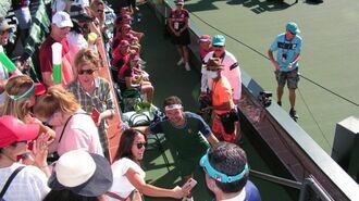 「ワクチン接種者のみ」豪華テニス大会すごい中身