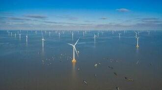 中国、「洋上風力発電」の新設容量が世界最大に