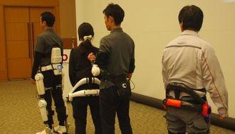 ロボットスーツが変える建設現場の未来