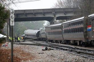 またアムトラックが事故、2人死亡・116人負傷