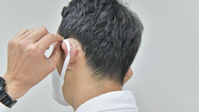 アベノマスク「耳が痛くて使えない」呆れた実態