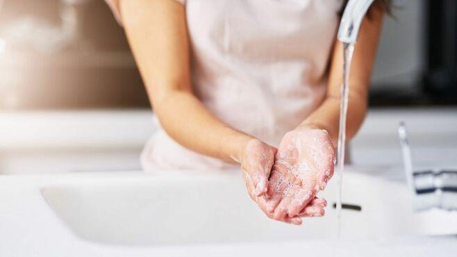 新型コロナ予防に有効な「正しい手洗い方法」