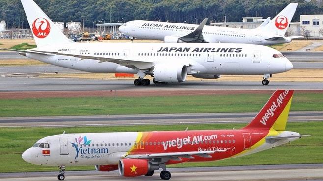 JALとANA、熱帯びる「ベトナムの空」争奪戦