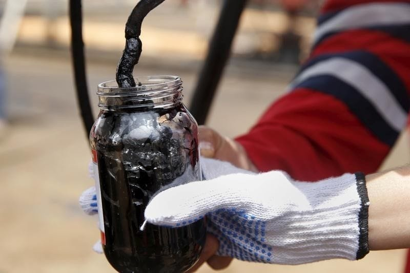 米原油先物価格、1バレル50~60ド...