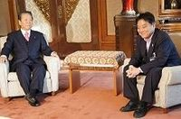 小沢一郎元民主党代表と河村たかし名古屋市長が会談、その気になる中身