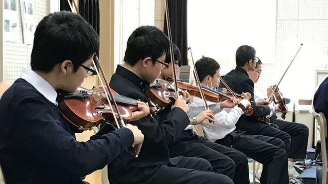 仏教主義の男子校がバイオリンで教える本質
