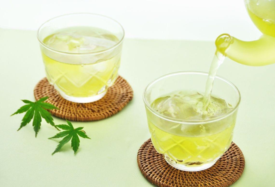 冬でも冷たい緑茶派?