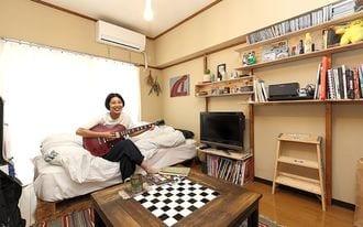 都内1K賃貸暮らしを楽しむ「DIY女子」の部屋