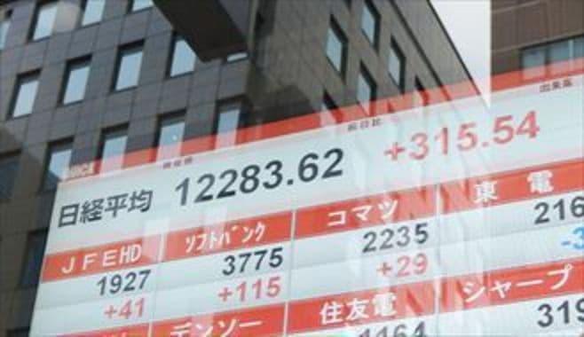 日経平均の次の上値は1万3600円か