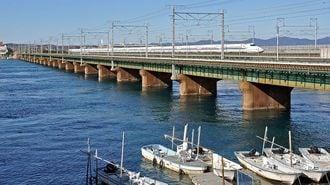 東海道新幹線、浜名湖に津波が来たらどうなる