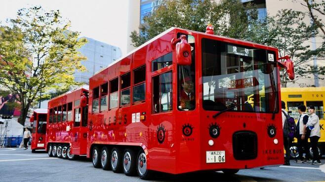 何だこれ?池袋に登場「謎の赤いバス」誕生秘話