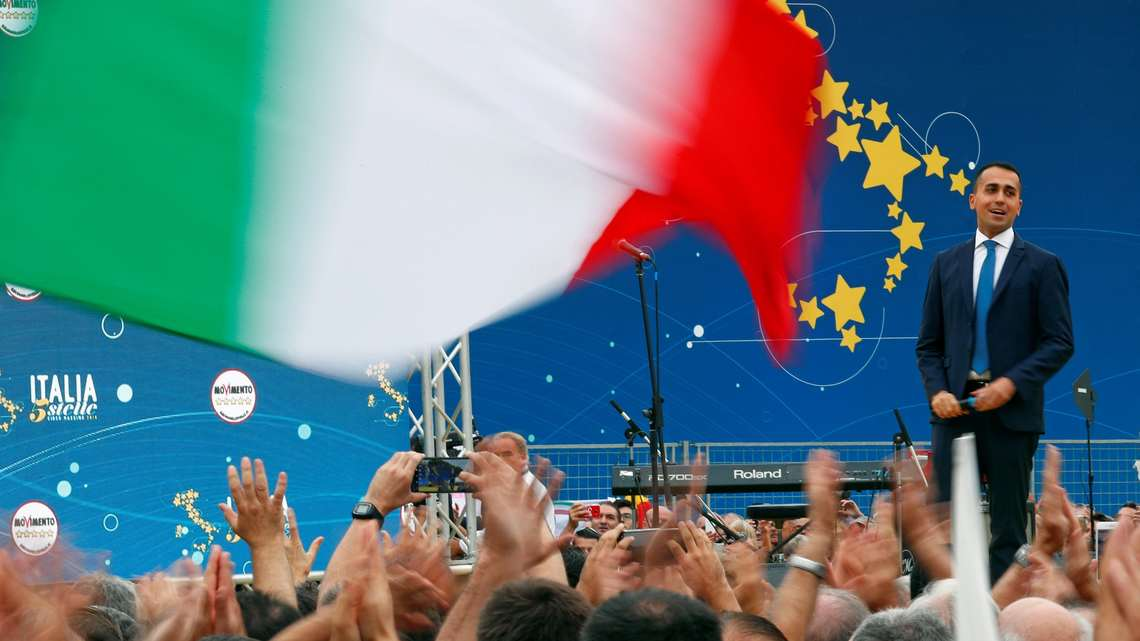 イタリア連立政権「無責任な政策」...