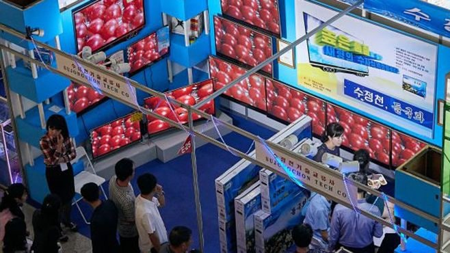 北朝鮮で「国際商品展覧会」の驚くべき中身