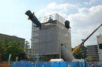 東京がガンダムなら神戸は鉄人28号!巨大モニュメント最新レポート《NEWS@もっと!関西》