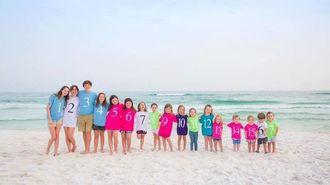 「17人とも元気です」天国の父に贈る家族写真