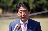 Japan's Abe says upcoming North Korea summits could mend ties between North, Japan