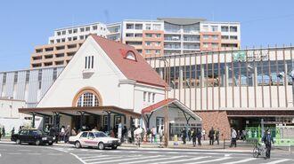 三角屋根の旧駅舎復活、学園都市「国立」の軌跡
