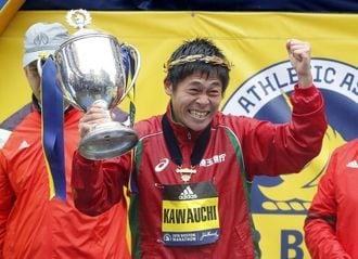 川内優輝、ボストン・マラソン優勝の快挙