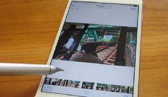 iPhone6s、「ライブフォト」で鉄道写真を撮る
