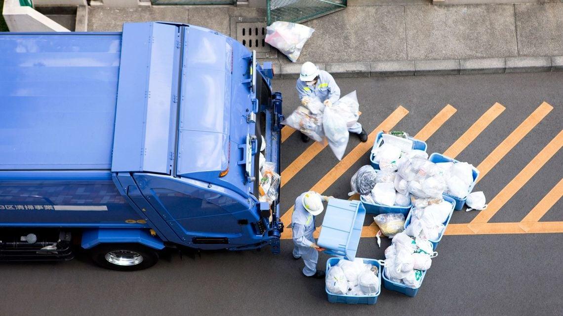 清掃 員 給料 ゴミ