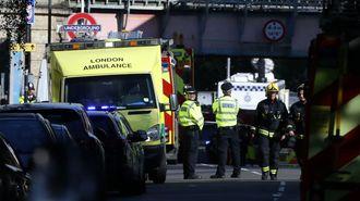ロンドン地下鉄で手製爆弾爆発、22人がけが