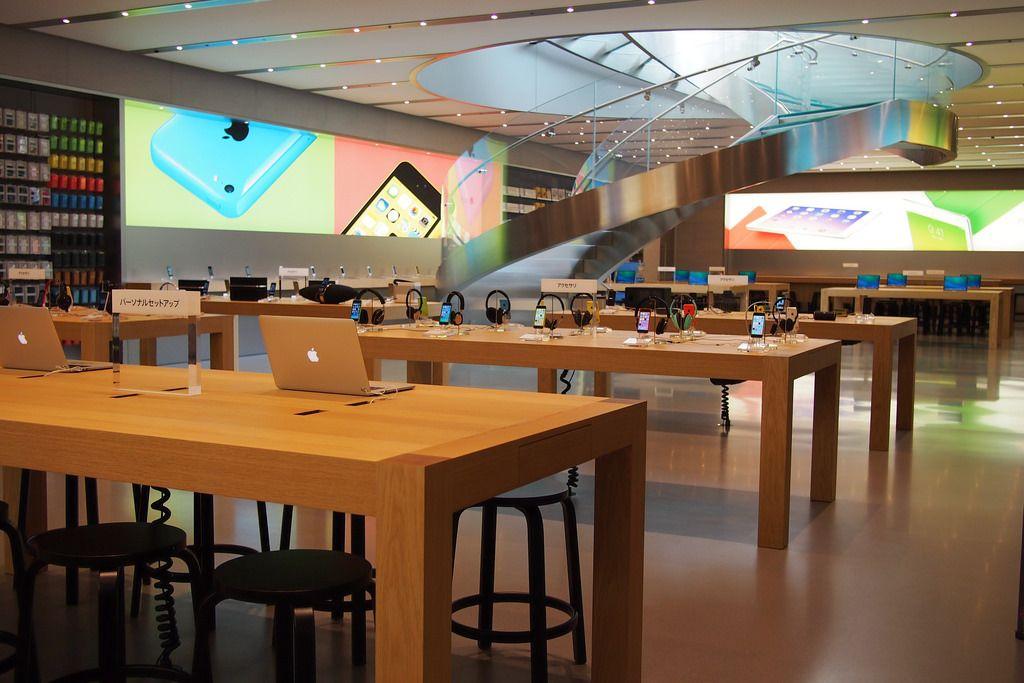店舗 アップル ストア