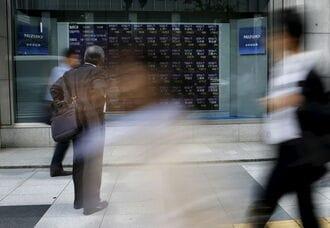 日経平均株価は続伸、外部環境に落ち着き