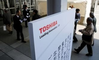 Toshiba aims to file results Tuesday without auditor endorsement