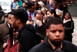 12月の米雇用は14万人減、8カ月ぶりに悪化