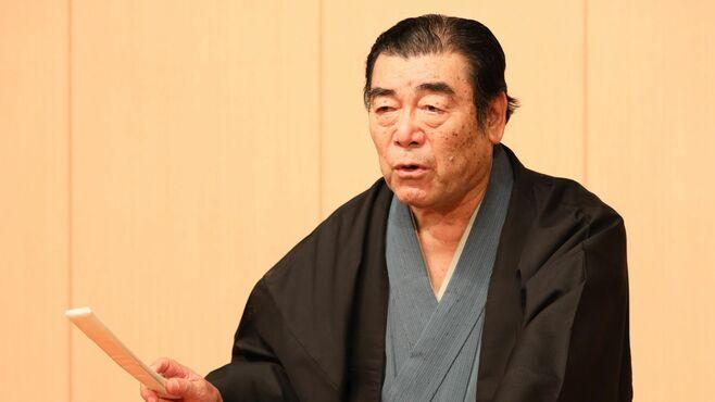 人間国宝・神田松鯉が語る「講談と落語」の違い