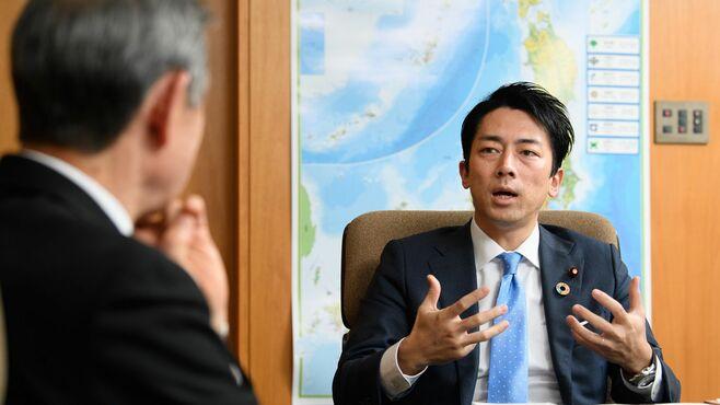 COP25にどう臨む、小泉氏が語る「脱炭素戦略」