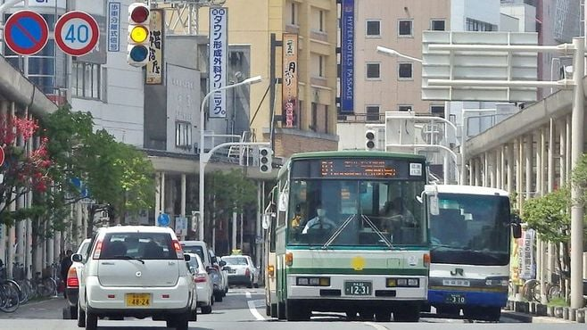 「グーグルマップ」に載るとバスは便利になる