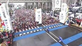 東京マラソン中国在住ランナーの特別措置撤回