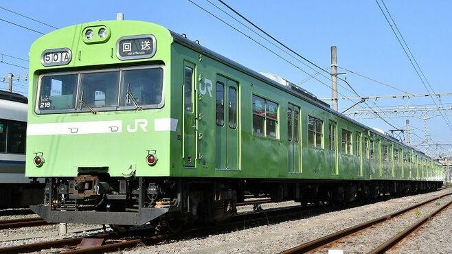 国鉄通勤電車の代表、JR奈良線103系が送る余生