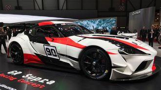 トヨタが初披露した「UX」と「スープラ」の形姿
