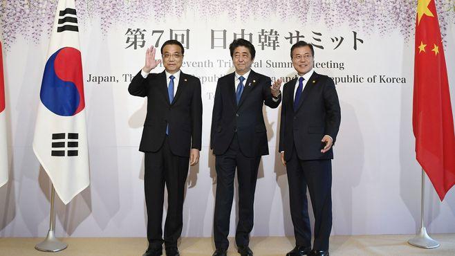 日中韓会談、対北朝鮮で「蚊帳の外」の日本